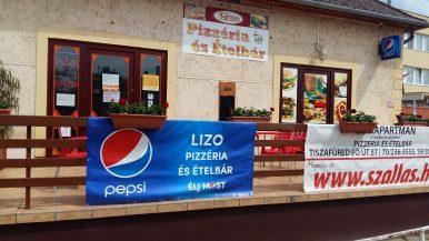 Lizo Pizzéria és Ételbár – Tiszafüred