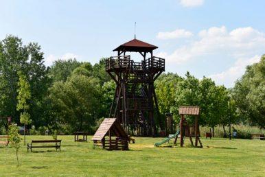 Morotva kerékpáros pihenőpark – Tiszafüred