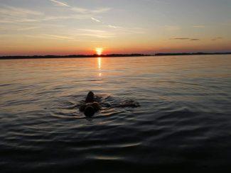Napkelte-napnyugta a Tisza-tónál
