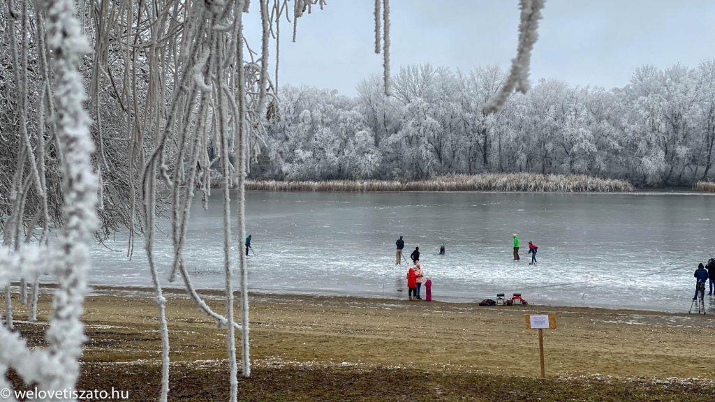 Hol korcsolyázz a Tisza-tónál?