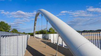 Hamarosan nyit a Poroszló-Tiszafüred kerékpárút