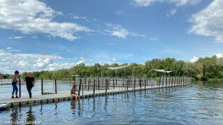 Strandok a Tisza-tó körül. Vízminőség? Príma!