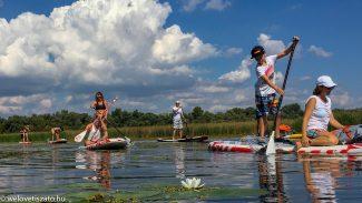 SUP bérlés a Tisza-tónál