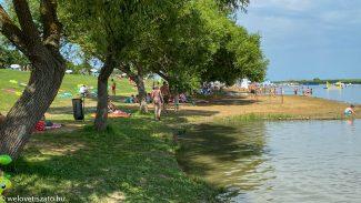Családbarát strandok, programok a Tisza-tónál