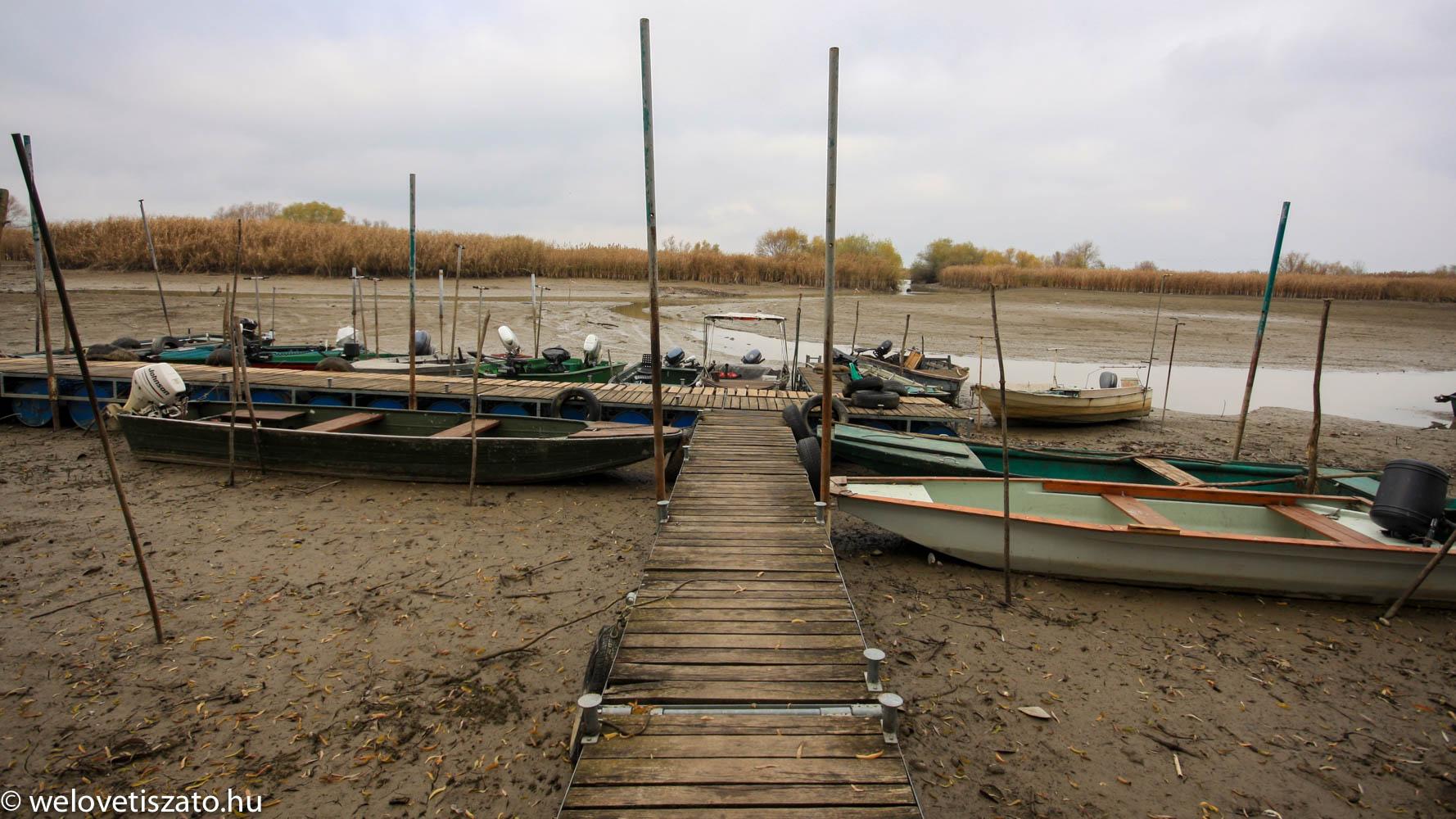 Tisza-tó téli vízszint