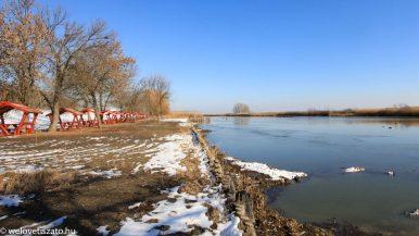 Téli túra a Tisza-tó partján 3. – Poroszló és Sarud között
