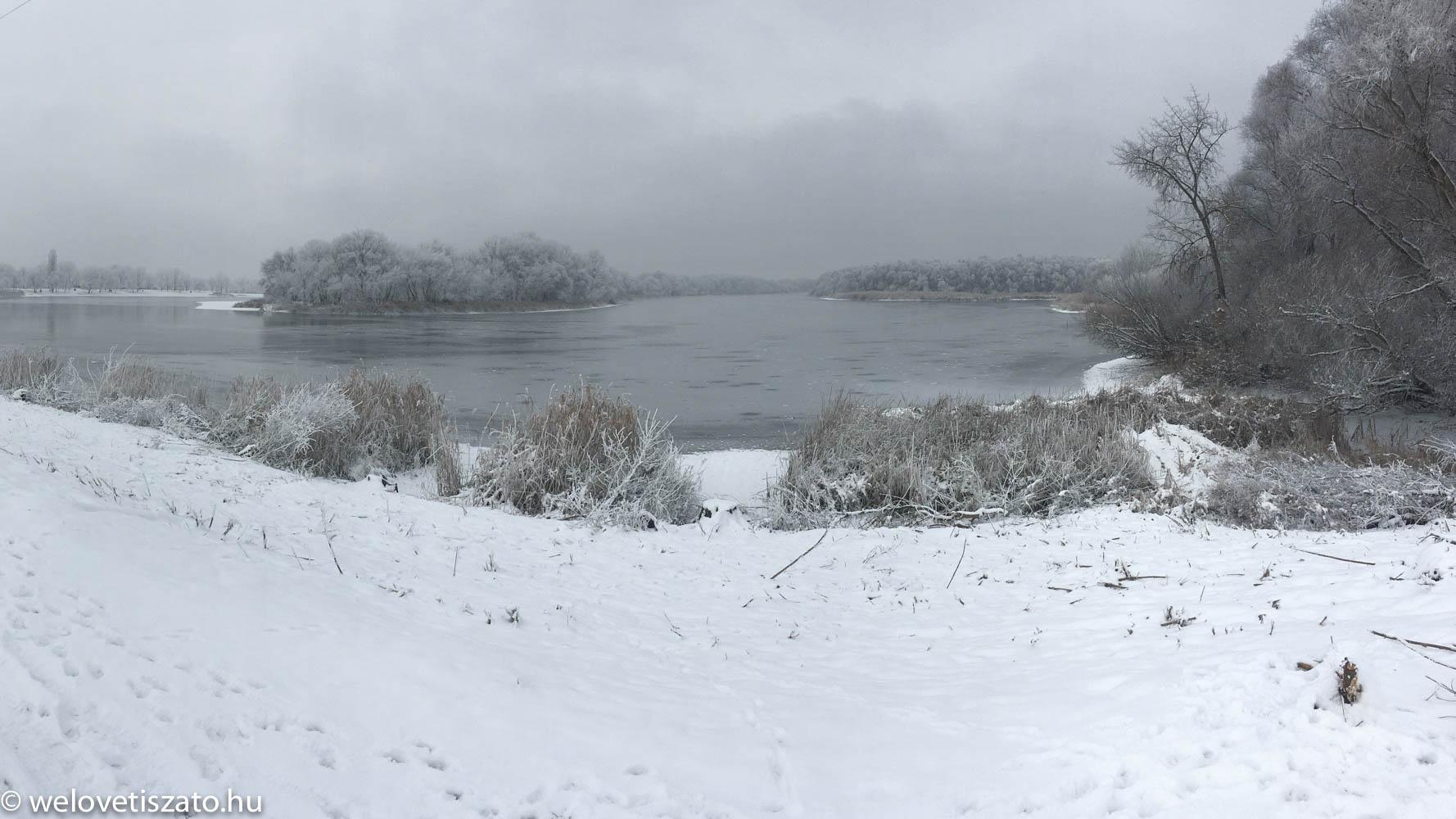 Tisza-tó téli túra - évindító program