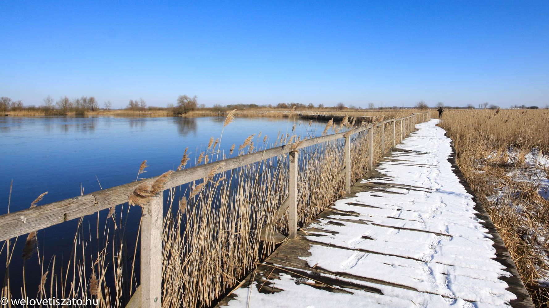 Górés-tanya télen