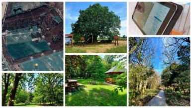 Interaktív tanösvény a Tiszaigari Arborétumban