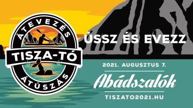 Tisza-tó-átevezés és átúszás – Abádszalók