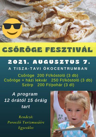 Csöröge Fesztivál az Ökocentrumban – Poroszló