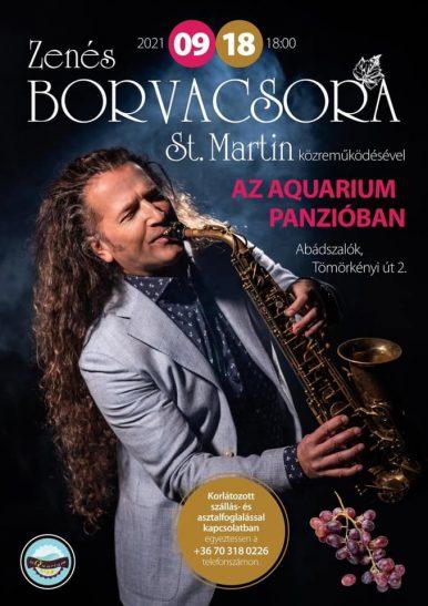Zenés Borvacsora – Abádszalók