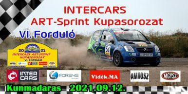 Intercars ART-Sprint Kupasorozat VI. forduló – Kunmadaras